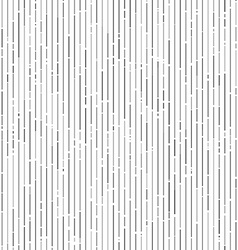Vertical gray random tinted lines seamless pattern vector image vector image