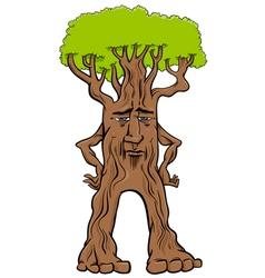 Tree creature fantasy character vector