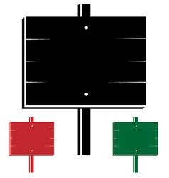 3d signs vector