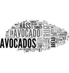 Avocado how to pick store and handle the perfect vector