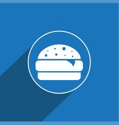 Burger icon sign icon symbol flat icon vector