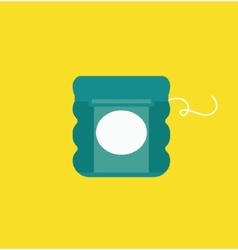 Dental floss vector