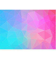 horizontal multicolor triangle background vector image