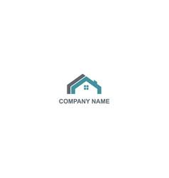 House building construction company logo vector