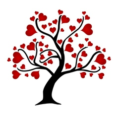 love trees vector image