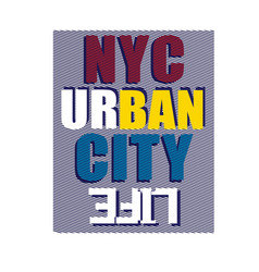 newyork district nyc print design typhography vector image