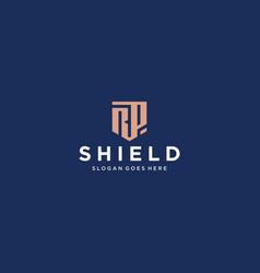 Rp shield logo vector