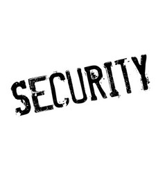 Security rubber stamp vector