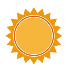 Sun light energy sunlight symbol vector