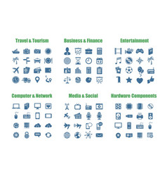 Universal web icons vector