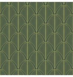Abstract pattern with a plant-like figure vector image vector image
