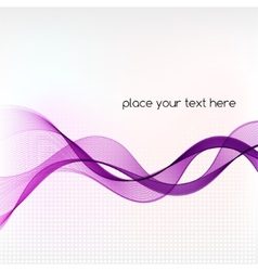 Abstract background with blue smoke wave vector image