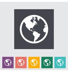 earth vector image
