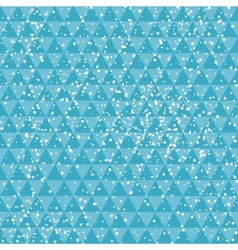Tech blue on abstract geometric background with vector image