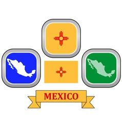symbol of MEXICO vector image