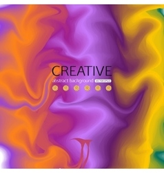 Abstract colorful background with effect of silk vector image