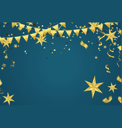 abstract happy new year background place for vector image