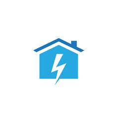 lighting house image vector image