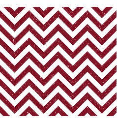 Red grunge chevron pattern background vector