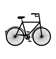 retro bicycle hipster style isolated icon design vector image