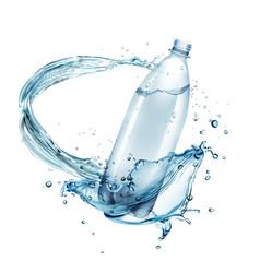 Water splashes around vector
