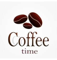 Coffee time stock vector image