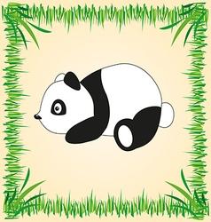 Panda drawing vector