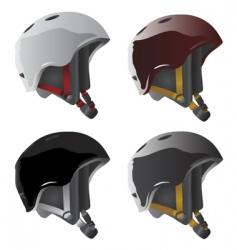 sport helmet vector image vector image