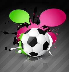 football design vector image
