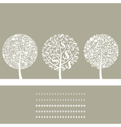 Tree business2 vector image vector image
