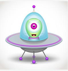 alien vector image vector image