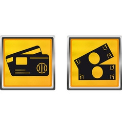 icons 19 vector image vector image