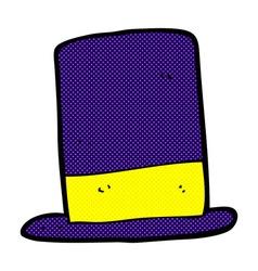comic cartoon hat vector image