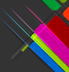 Graphic colors vector