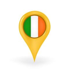 Location Ireland vector
