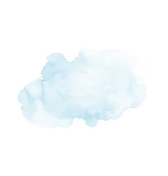 soft blue and harmony background stain splash vector image