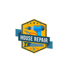 work tools icon of home repair construction vector image