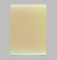 gradient heart pattern brochure template design - vector image vector image