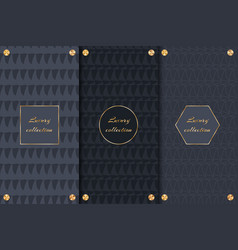 set of backgrounds for chic products vector image vector image
