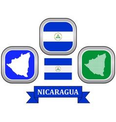 symbol of Nicaragua vector image vector image