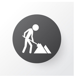construction works icon symbol premium quality vector image