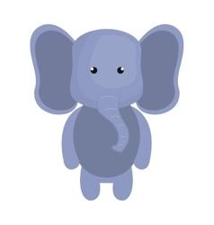 elephant animal cartoon vector image