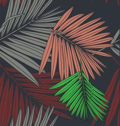 Foliage seamless pattern6 vector