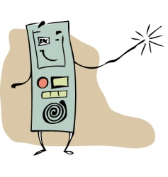 Magic dictation device vector