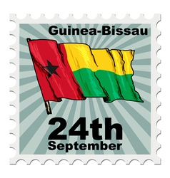 national day of Guinea-Bissau vector image