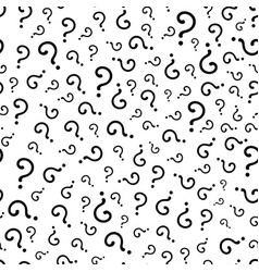question marks or interrogation pattern vector image