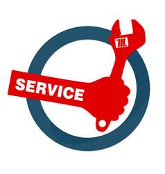 repair sign vector image