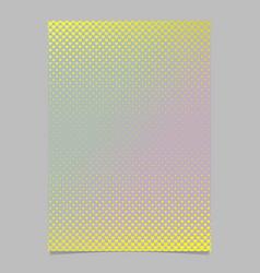 retro gradient heart pattern flyer template vector image