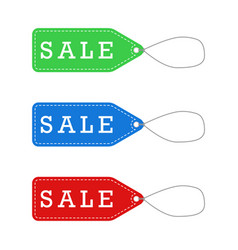 sale labels for promotion vector image vector image