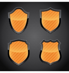Shield emblems vector
